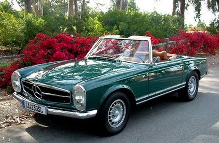 Oldtimer Klassiker Mercedes Benz 17 – Madeline Stuart