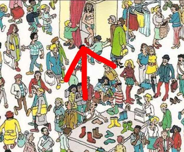 """21 Really Odd And Fucked Up Things You Never Noticed Happening In """"Where's Waldo?"""" Pictures"""