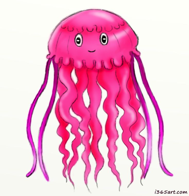 cute jellyfish drawings - Google Search