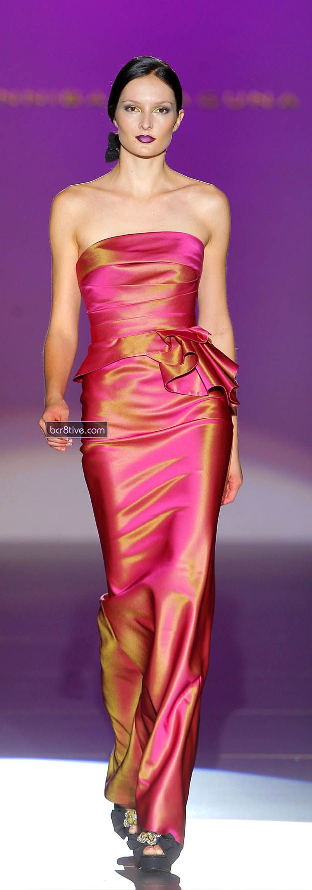 Hannibal Laguna Spring Summer 2012: Laguna Spring, Style, Spring Summer, Shades Gowns, Knee Hannibal Laguna, Summer 2012 Pink, Gowns Wedding