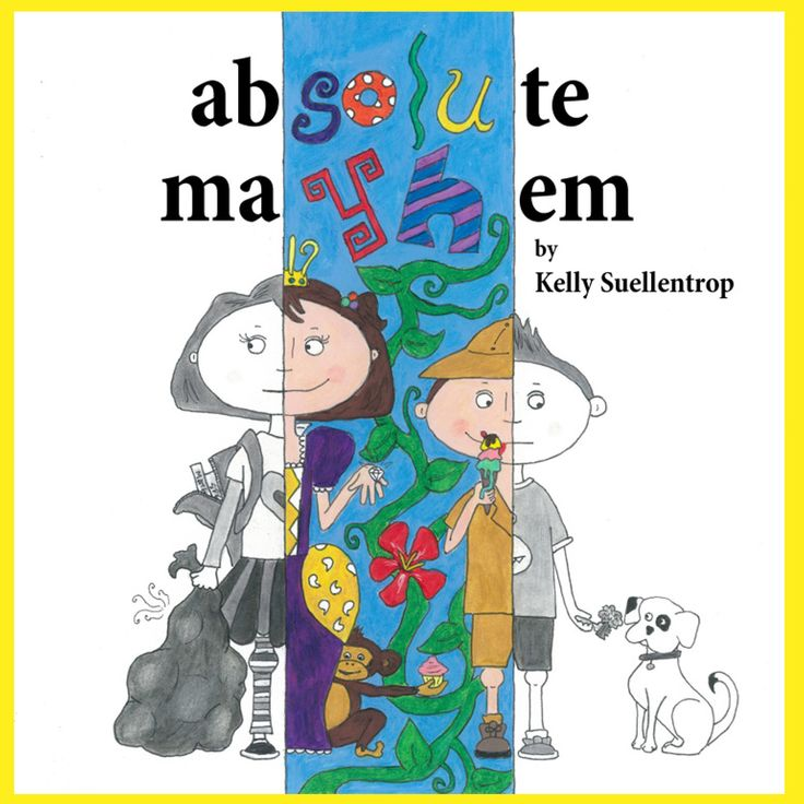 Absolute Mayhem by Kelly Suellentrop  Lulu and Milo follow the rules and do their chores all week long. But what happens when Absolute Mayhem comes to play on the weekend? This book celebrates the fantasy and fun of imagination, while also subtly encouraging the need for order and balance.  #parenting #kids #childrensbooks #books #read