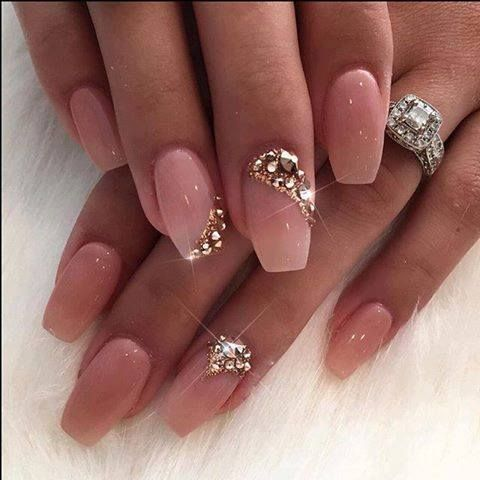 stone-nail-art - 119 Best Unhas Images On Pinterest Enamels, Makeup And Nailart