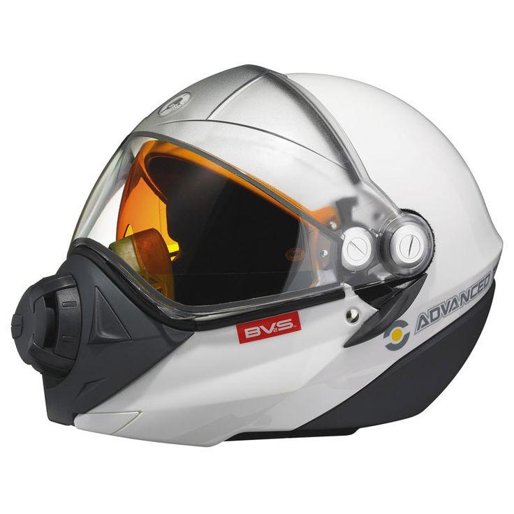 Bombardier Snow mobile helmet - easier than building your own space helmet?