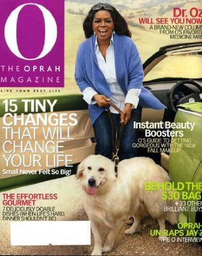 O the Oprah Magazine October 2009 Oprah Dog « Library User Group