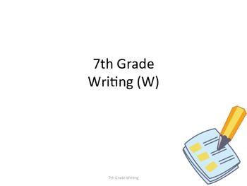 Creative writing help year 7th