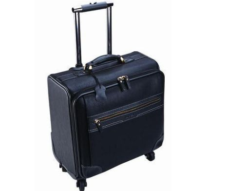 The Computer Trolley Bag on 4 Wheels takes 15.4 inch laptops Material: Leather Size: 400 x 200 x 390 mm Branding Options: Please Enquire #brandability #corporategifts #laptopbags
