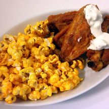 #hotwings #gameday #gamedayfood #football #nfl #gourmet #popcorn #party #partyideas