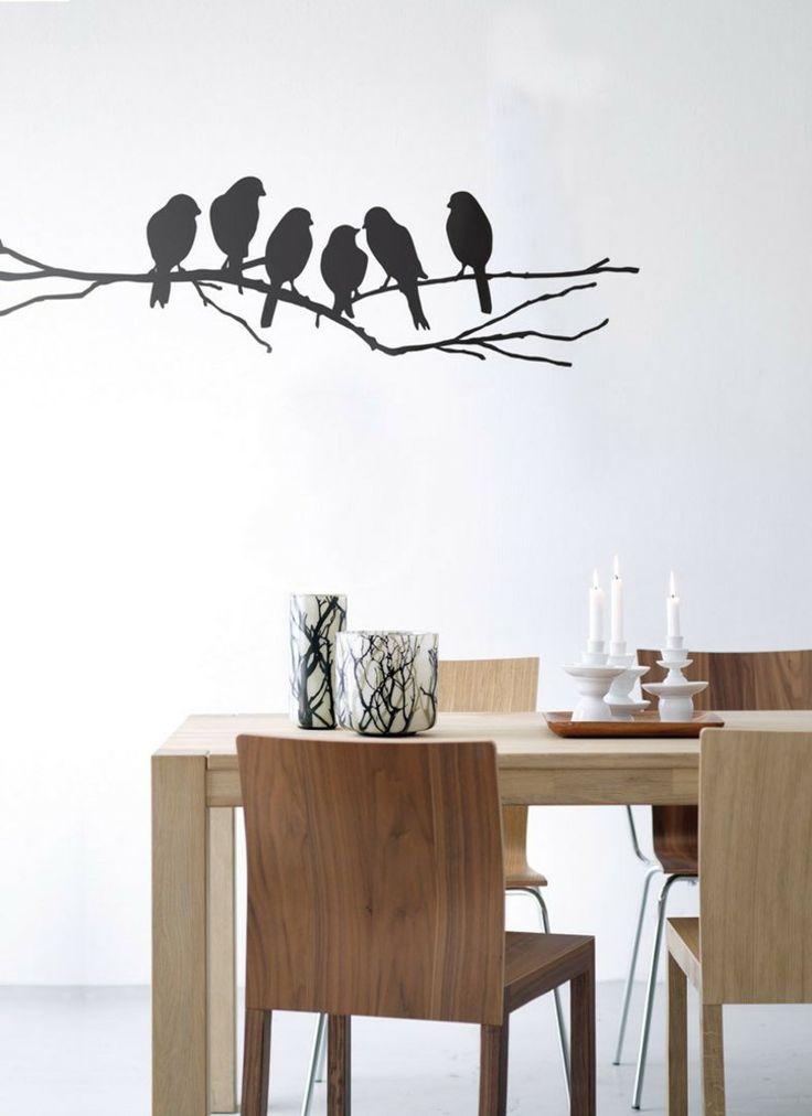 42 best Whg Ideen images on Pinterest Ideas, Fabric wallpaper - wandtattoos küche günstig