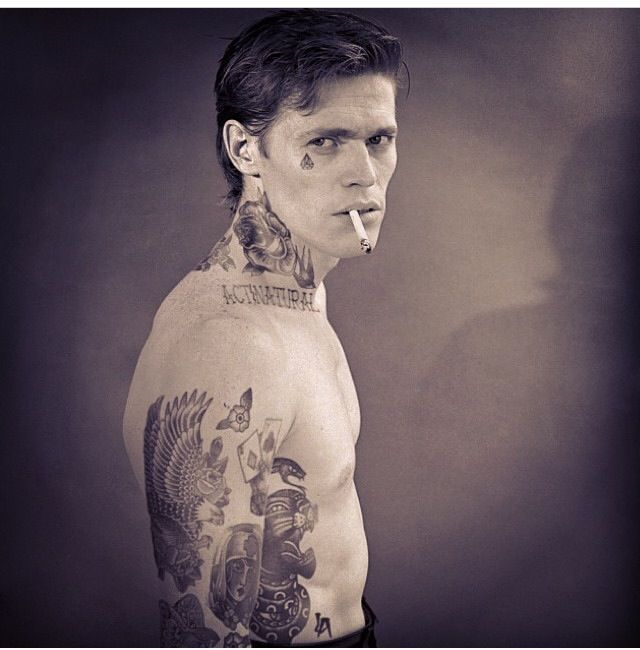 Best Cheyenne Randall Images On Pinterest Princesses - Artist reimagines celebrities covered in tattoos