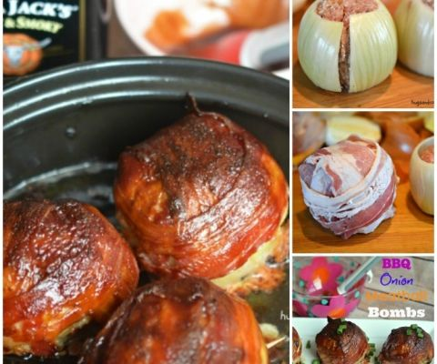 onion meatball bombs bbq