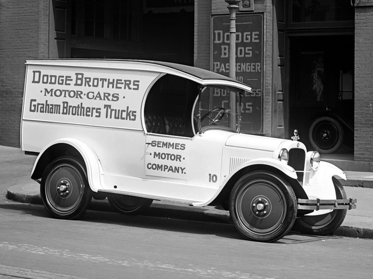 1924 Dodge Brothers  Panel Delivery