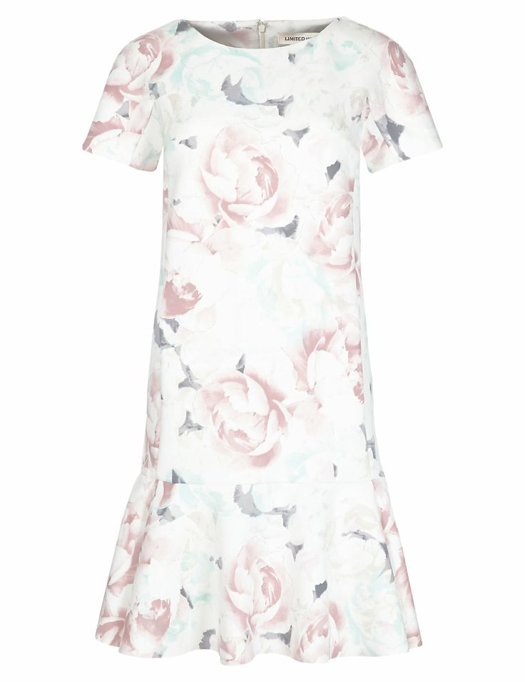 Floral Drop Waist Dress | M&S