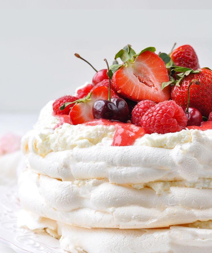 ребята десерт павлова классический рецепт с фото пошагово выследила