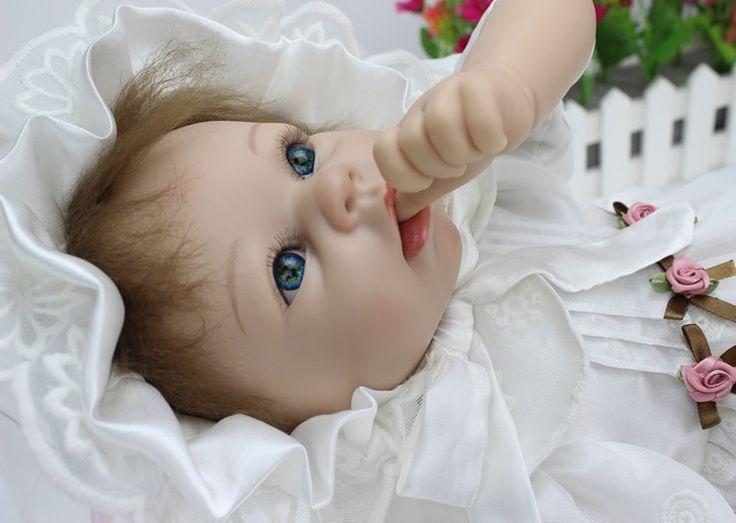 Ультра-модель силиконовая кукла-девочка 55 см