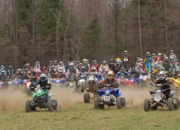 GNCC ATV racing