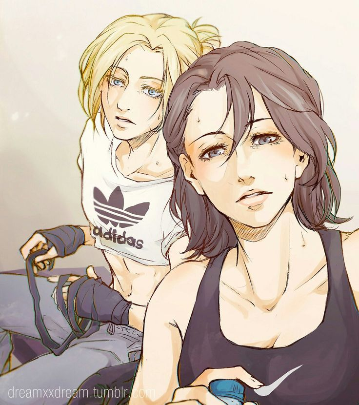 39 Best Mikasa X Annie Images On Pinterest