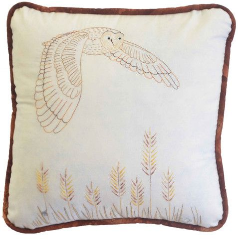 $7  The Barn Owl is number 9 in our Aussie Bird series of stitcheries.  Suitable for all levels of experience this stitchery uses simple stitchery techniques.