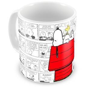 Caneca Personalizada Porcelana Casinha Snoopy