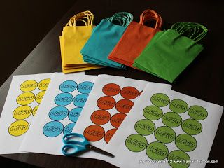 A mama with ideas...: Lego Party Bags Free Printable...