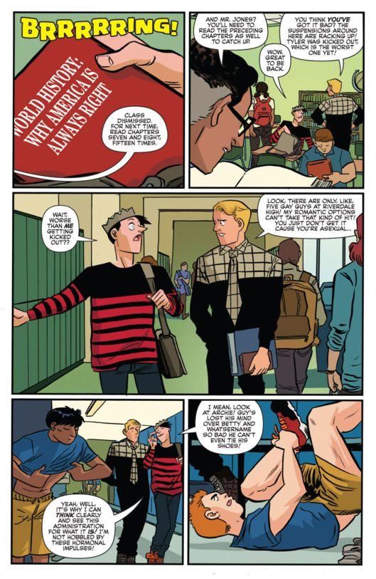 Archie Comic Reveals Jughead Is Asexual -- Vulture