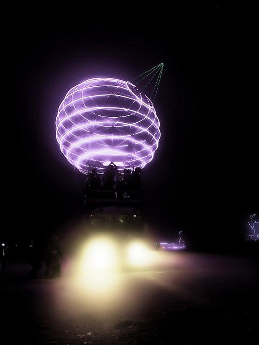 The Death Star, Burning Man 2012 - this baby is currently for sale.
