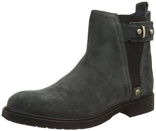 Tommy Hilfiger HOLLY 3B, Damen Chelsea Boots, Grau (DARK SHADOW 098), 40 EU - http://on-line-kaufen.de/tommy-hilfiger/40-eu-tommy-hilfiger-holly-3b-damen-chelsea-boots-3
