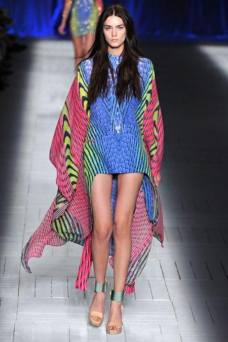 just cavalli spring 2013 rtw couture kaftan tunika
