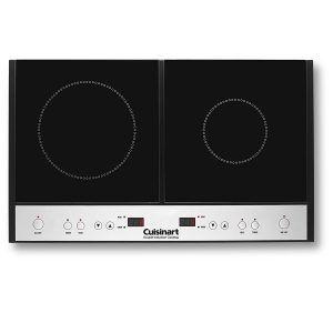 Cuisinart ICT-60 Double Induction Cooktop, Black