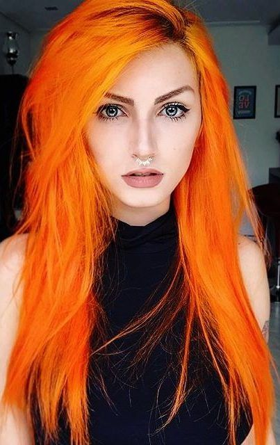20 Orange Hair Color Trend Is Taking to the Next Level, Orange hair, couldn't care less! Goodness. You're going to hop into the hair shading profound end with these stunning design hues. In case you're thin..., Beauty