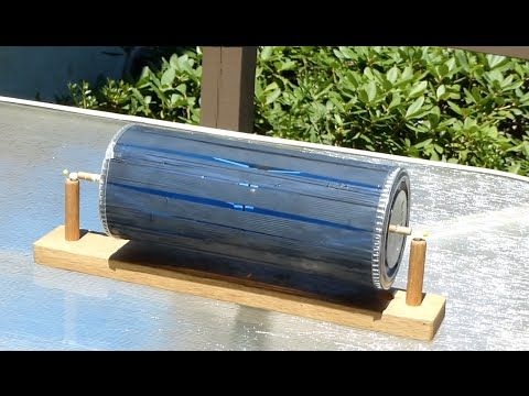 Solar motor--Free energy motor-- not electrical /// Homemade Science with Bruce Yeany - YouTube