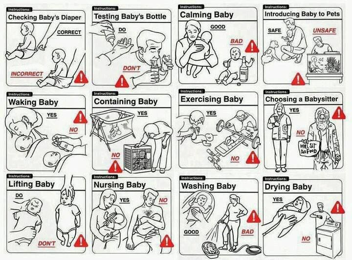 Best Instruction Manual Images On   Ha Ha Funny Stuff