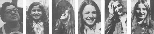 """In November of 1970, forty people were photographed at the exact instant after the photographer said, """"You have a beautiful face."""""""