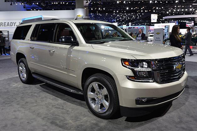 Two of #Chevy's Large SUVs get Improved Fuel Economy for 2015