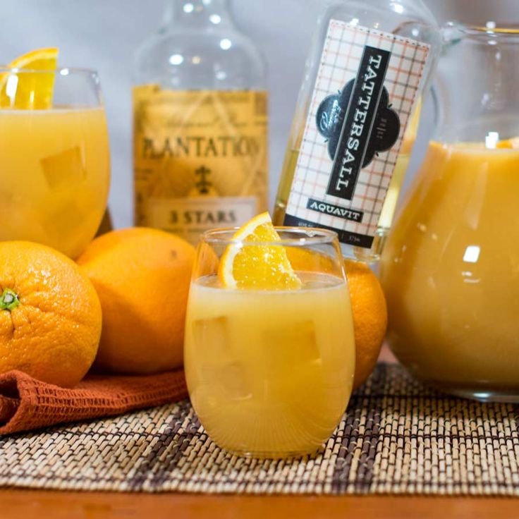 Our Norwegian POG cocktail recipe combines aquavit's distinctive herbal notes with the fresh fruit flavors from POG (passion, orange, and guava) juice to create a refreshing cocktail with crisp clean flavors.
