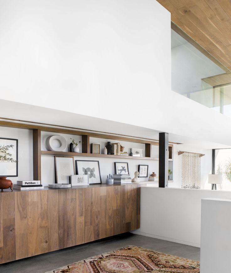 Emily Henderson Corbette Crypton 70s Modern Organic Entry Way 6 #shelf