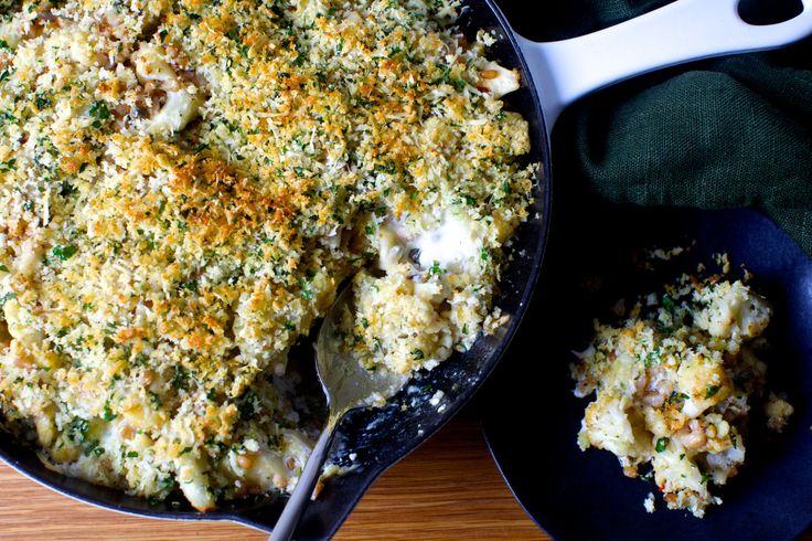 crusty baked cauliflower with farro | smittenkitchen.com