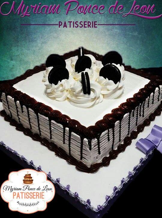Cake de chocolate y oreo