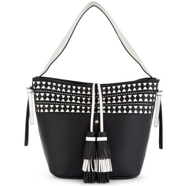Aldo Acenavia tote (515 MXN) ❤ liked on Polyvore featuring bags, handbags, tote bags, aldo handbags, tote handbags, embossed handbags, raffia handbags and aldo tote