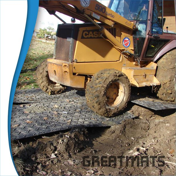 Skid Steer Mats In 2020 Ground Protection Martial Arts Mats Turf Protection
