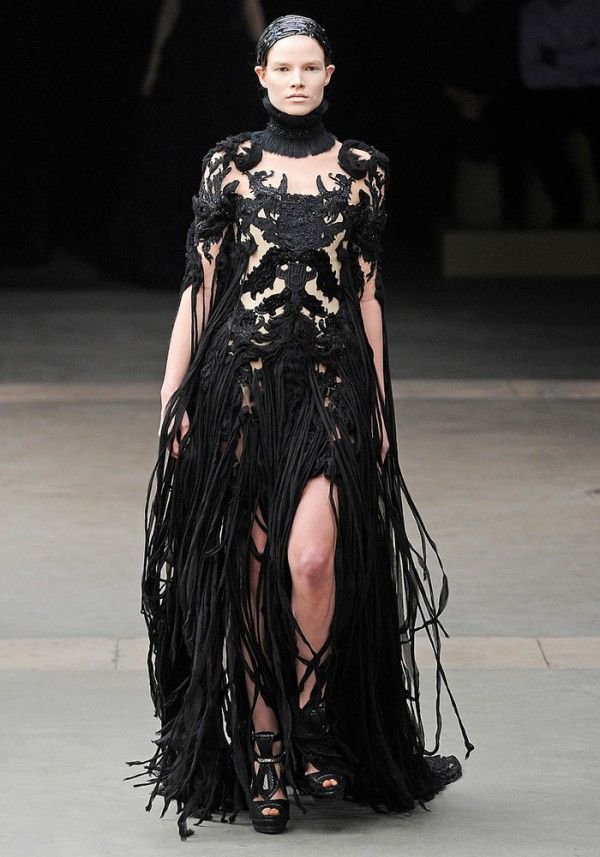 Alexander McQueen's Fall/Winter 2011 collection.