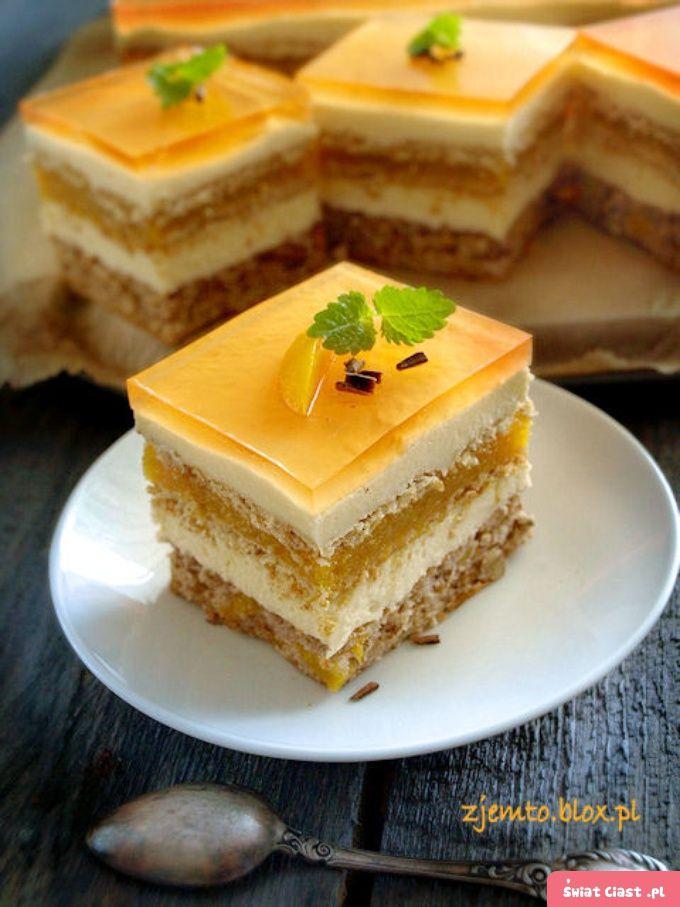"""Ciasto """"Brzoskwiniowy sad"""" - Swiatciast.pl"""