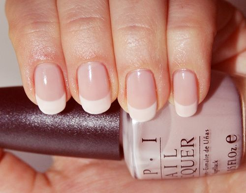 Always classy and feminine...not too long, naturally shaped nails are for a lady. So much better than those tacky, squared-off, gel claws!