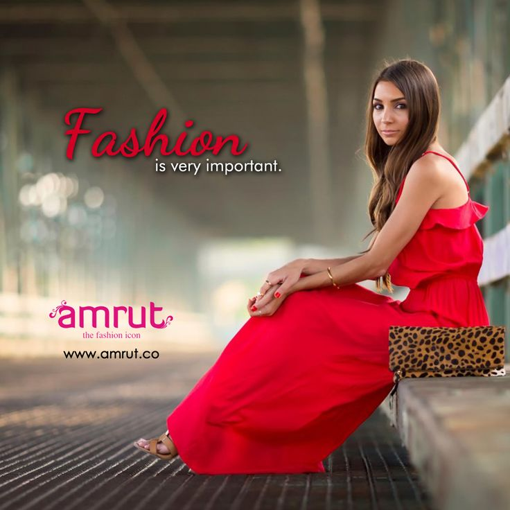 #Fashion is very important.  It is life-enhancing and, like everything that gives pleasure, it is worth doing well.  — Vivienne Westwood  Be with Amrut - The Fashion Icon and feel the fashion!!!  www.amrut.co  #FashionInIndia #fashionTrend