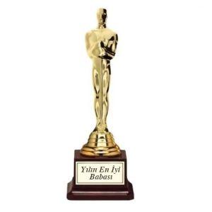 Kişiye Özel İsim Yazılı Oscar Başarı Ödülü - 24,90 TL #doğumgünühediyeleri