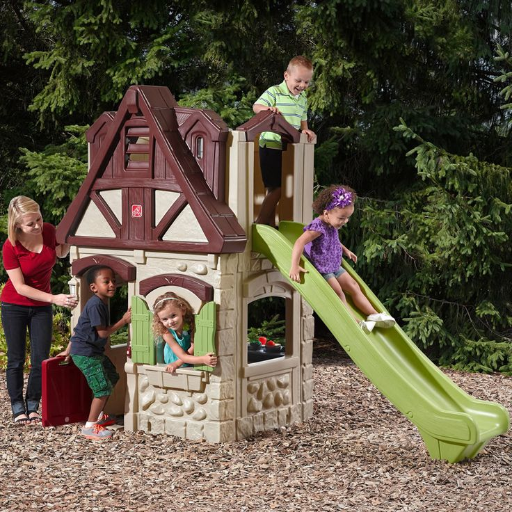 best 25 playhouse slide ideas on pinterest kids outdoor. Black Bedroom Furniture Sets. Home Design Ideas