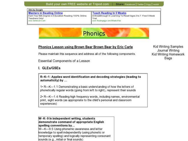 Best 25+ Phonics lesson plans ideas on Pinterest
