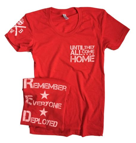 Red White Blue Apparel Co. - Women's Red Friday (Red)