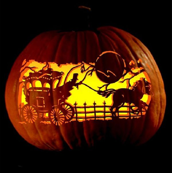 50 Creative Pumpkin Carving Ideas Halloween Pinterest