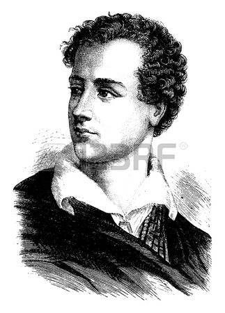 Лорд Байрон, старинные гравированные иллюстрации. История Франции - 1885. photo