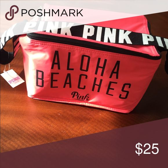 Victoria's Secret PINK Aloha Beaches Mini Cooler Brand new, with tag. PINK Victoria's Secret Other